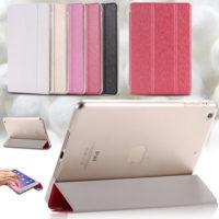 Elegant-Clear-Ultra-Thin-Silk-Leather-Flip-Case-For-Apple-iPad-6-Air-2-Luxury-Smart (1)